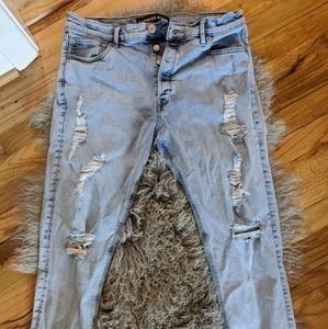 Womens Express Skinny Ankle jeans sz 10r